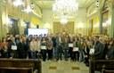La Paeria pone en valor la aportación del tejido empresarial de la ciudad a proyectos sociales