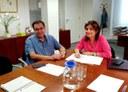 Toma de contacto con la Cátedra de Innovación Social para conocer la previsión de trabajo