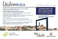 """Presentación del proyecto """"Lleida Implica. Vínculos que hacen ciudad """""""