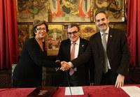 Conveni de col•laboració entre la Paeria i el Col•legi Oficial de Treball Social