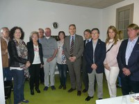 El col·lectiu de Laringectomitzats de Lleida es trasllada al Centre Històric