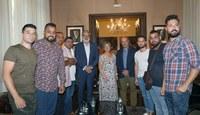 El alcalde Félix Larrosa se reúne con entidades leridanas del pueblo gitano