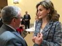 Ángel Ros recoge el Premio Reina Letizia accesibilidad universal de municipios