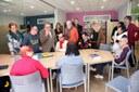 El alcalde de Lleida visita el Centro Campus de ASPROS el barrio de Cappont