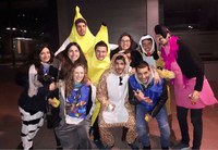 Salida del equipo de Noches Q para el Carnaval de Lleida