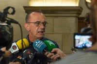 """Miquel Pueyo: """"Entre las grandes corporaciones y las familias, siempre elegiremos las familias"""""""