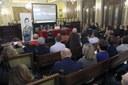 Sor Lucía Caram da una conferencia en la Paeria sobre la solidaridad y el compromiso con la infancia