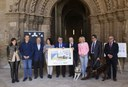 5,5 milions de cupons de l'ONCE portaran la imatge del Turó de la Seu Vella
