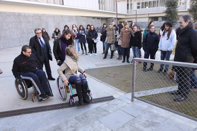 """Àngel Ros: """"L'atenció a persones amb discapacitat s'ha d'enfocar des d'una perspectiva no estrictament assistencial i d'atenció, sinó des d'una òptica d'igualtat de drets"""""""