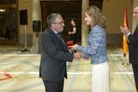 Àngel Ros recull el Premi Reina Letizia d'Accessibilitat Universal de Municipis