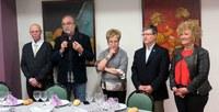 L'Associació Provincial de Laringectomitzats celebra el 38è aniversari amb motiu de la festa de Sant Blai