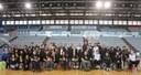 """L'Actel Força Lleida i l'Handbol Pardinyes participen en la gimcana """"Viu les discapacitats"""" que organitza l'Ajuntament de Lleida amb motiu del Dia Internacional de les Persones amb discapacitat"""