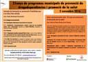 25 anys de programes municipals de prevenció de drogodependències i promoció de la salut