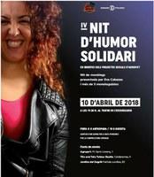 IV Nit d'Humor Solidari en benefici de projectes socials de l'entitat Agrupa't