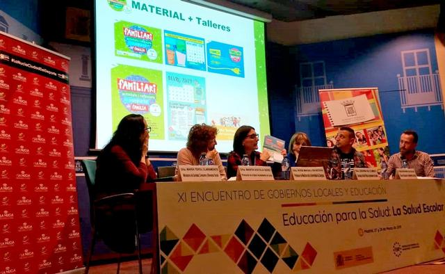 "La Paeria presenta el programa ""Familiari"" a Madrid"