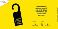 Nova acció de l'equip de joves voluntaris Nits Q Lleida a la Zona Alta