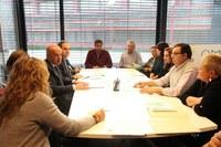 """Campanya """"Aliments per a tothom des del comerç de proximitat"""" a les associacions de comerciants dels barris de Lleida"""