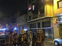Els serveis socials de la Paeria reallotgen cinc famílies de l'edifici del carrer Músic Vivaldi de la Mariola, afectat per un incendi