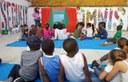 Alumnes de l'INS Ronda dinamitzen el Centre Històric amb activitats per a infants i joves