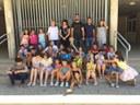 Joves del Centre Sorigué comparteixen l'Estiu de Joc amb els nens i nenes