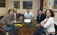 La Paeria es reuneix amb l'Associació de Famílies Nombroses de Catalunya per estudiar beneficis fiscals i socials