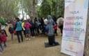 """Uns 200 infants participen en la trobada """"Juguem al carrer"""" als Camps Elisis"""