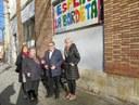 Visita al futur centre de reforç pedagògic i escolar per a infants i joves a la Bordeta