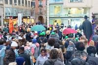 Desfile de Carnaval por el Centro Histórico de Lleida