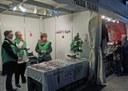 Entitats socials i de cooperació mostren el seus projectes al Mercat de Nadal