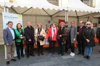 VIII Fira d'Entitats de Voluntariat Social a la plaça de la Catedral