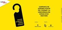 Nueva acción del equipo de jóvenes voluntarios Noches Q Lleida en la Zona Alta