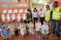 5 años del proyecto solidario con el Banco de Alimentos en las Guarderías Municipales