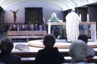 Celebració del 35è aniversari de la llar municipal de jubilats de Santa Teresina