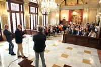 """Félix Larrosa: """"tenemos que volver a la gente mayor lo que ha hecho por nosotros"""""""