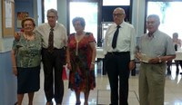 Homenatge de la Llar de Bonaire als socis que compleixen 85 anys