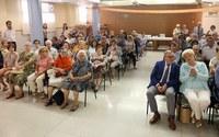 L'alcalde Àngel Ros assisteix a la trobada del Voluntariat i a la celebració del Dia Mundial de l'Alzheimer