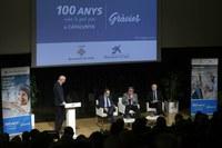 L'alcalde Ros destaca l'aportació del col·lectiu de la gent gran a la societat