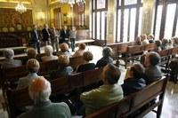Les entitats de dones i les llars de jubilats celebren Sant Jordi a la Paeria