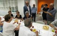 Les llars municipals de jubilats serveixen uns 7.000 àpats en el que portem d'any