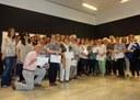 Lliurament de diplomes als 38 participants dels cursos de formació a persones cuidadores