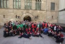 L'alcalde rep els atletes lleidatans dels Special Olympics
