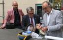 La ciutat de Lleida, més cardioprotegida amb la instal·lació de 4 desfibril·ladors al carrer