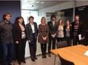 La Xarxa Perifèrics per a la prevenció de les drogodependències a Catalunya lliura el Manifest a la consellera Neus Munté