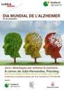 Conferència sobre jocs i dinàmiques per entrenar la memòria en el dia mundial de l'Alzheimer