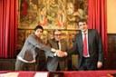 L'Ajuntament de Lleida i CatalunyaCaixa signen un acord de col·laboració per destinar habitatges a lloguer social