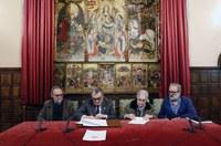 L'Ajuntament de Lleida signa la compra de la nova llar per als més vulnerables de ciutat
