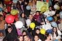 Els nens i nenes de la Xarxa de Centres Oberts i Ciberaules celebren el Dia Internacional dels Drets dels Infants