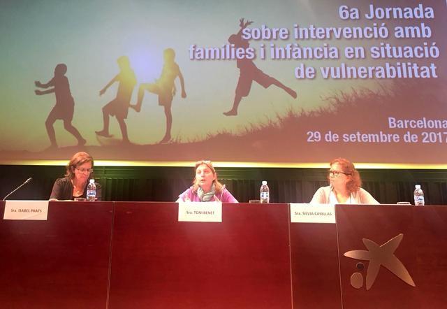 La Paeria presenta la seva experiència en preservació familiar a Barcelona