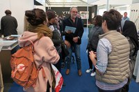 """Les famílies participants en el projecte europeu """"Growing Together"""" visiten Municipàlia"""