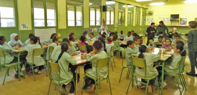 Més de 1.600 alumnes de Lleida aprendran aquest curs hàbits saludables de l'esmorzar